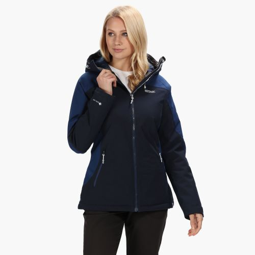 Women's Corvelle II Waterproof Insulated Jacket Navy Prussian Blue